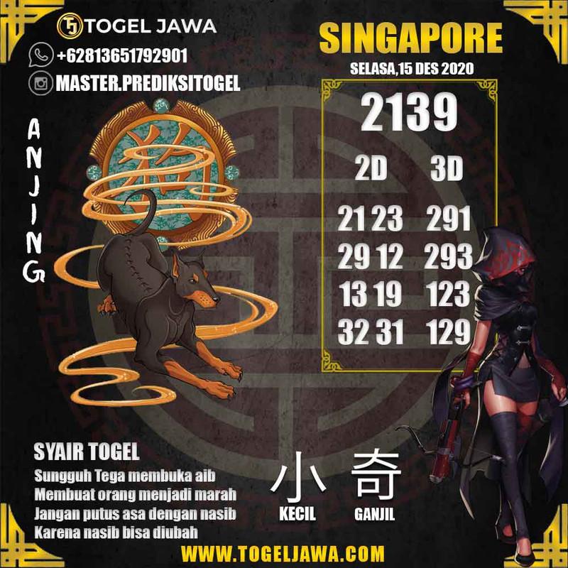 Prediksi Singapore Tanggal 2020-12-15