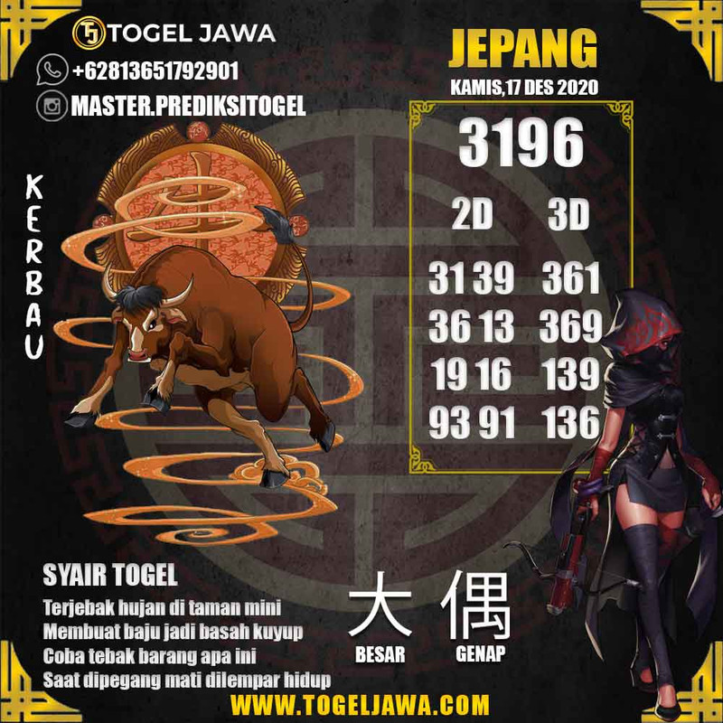 Prediksi Japan Tanggal 2020-12-17