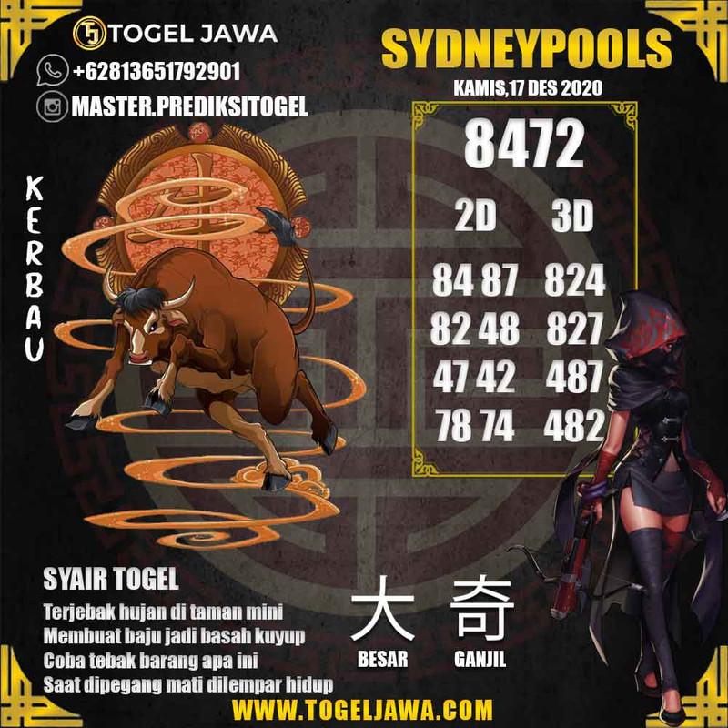 Prediksi Sydney Tanggal 2020-12-17