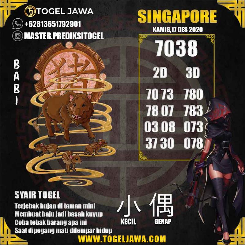 Prediksi Singapore Tanggal 2020-12-17