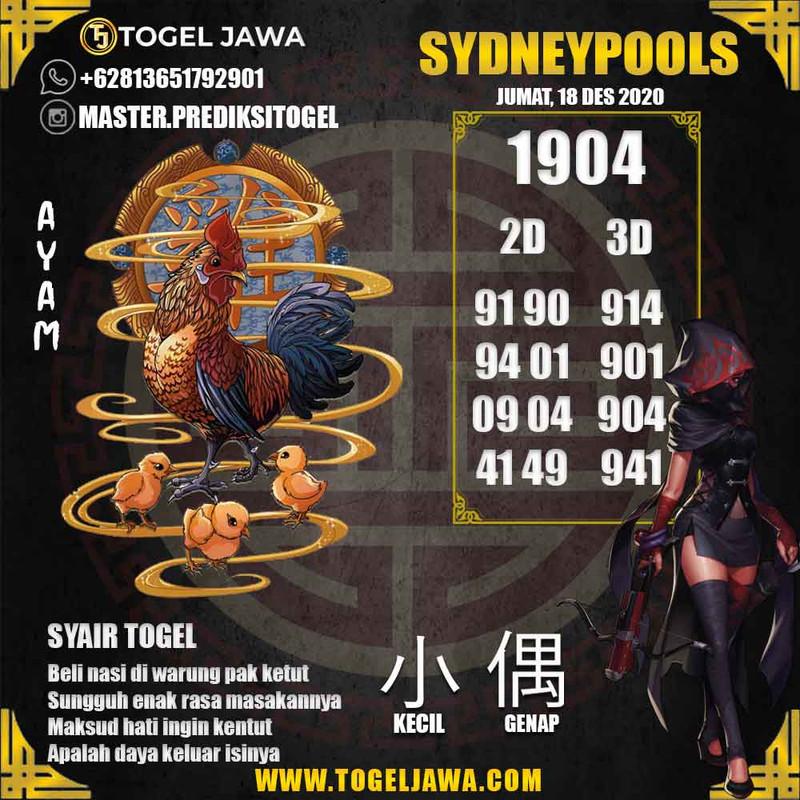 Prediksi Sydney Tanggal 2020-12-18