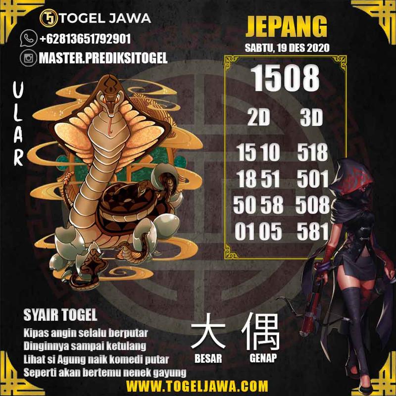 Prediksi Japan Tanggal 2020-12-19