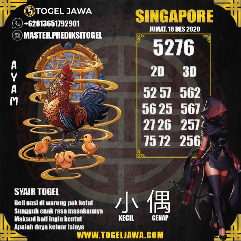 Prediksi Singapore Tanggal 2020-12-18