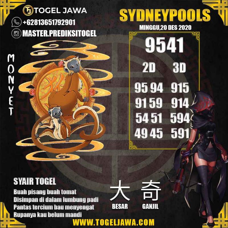 Prediksi Sydney Tanggal 2020-12-20