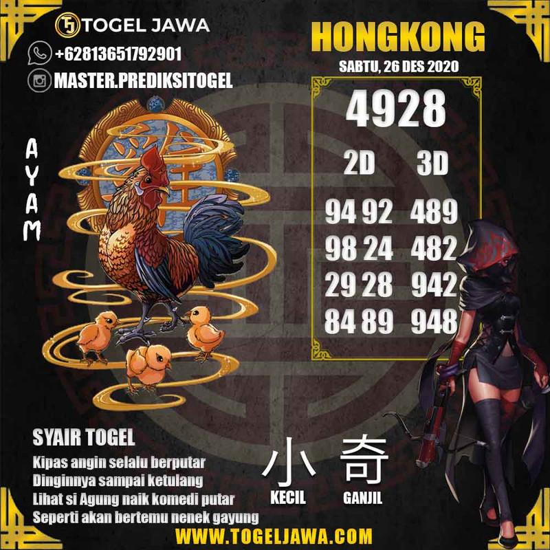 Prediksi Hongkong Tanggal 2020-12-26