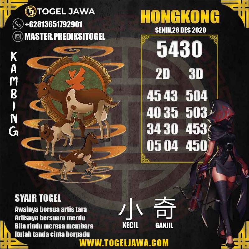 Prediksi Hongkong Tanggal 2020-12-28