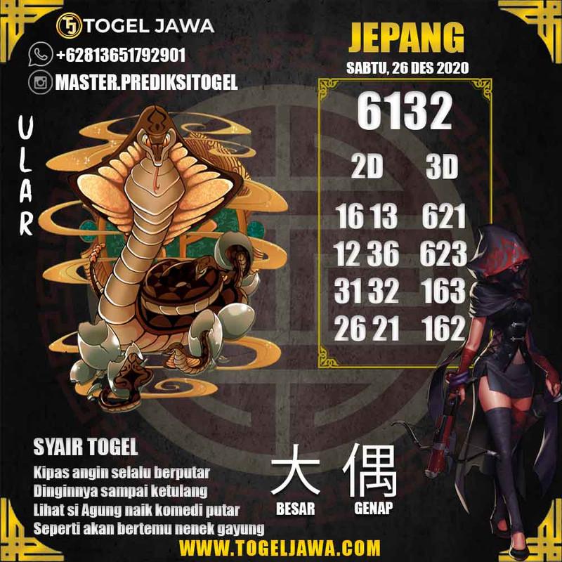 Prediksi Japan Tanggal 2020-12-26