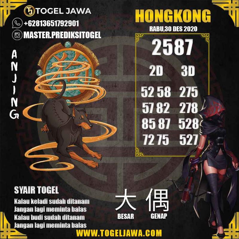 Prediksi Hongkong Tanggal 2020-12-30