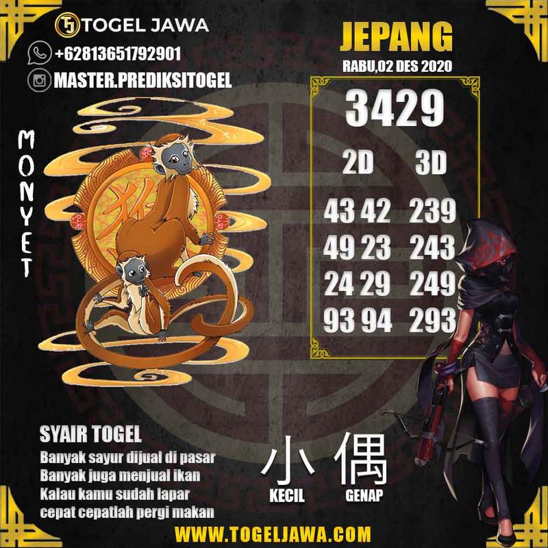 Prediksi Japan Tanggal 2020-12-02