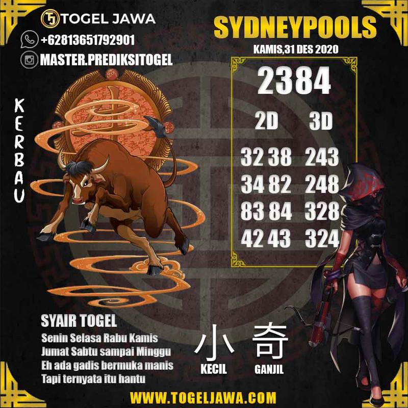 Prediksi Sydney Tanggal 2020-12-31