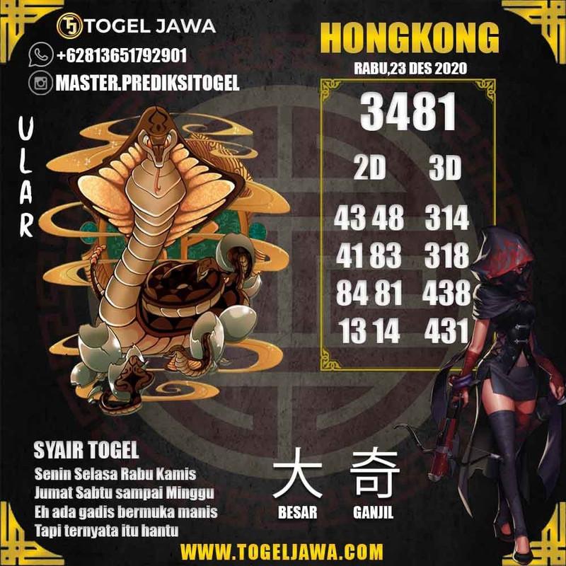 Prediksi Hongkong Tanggal 2020-12-23