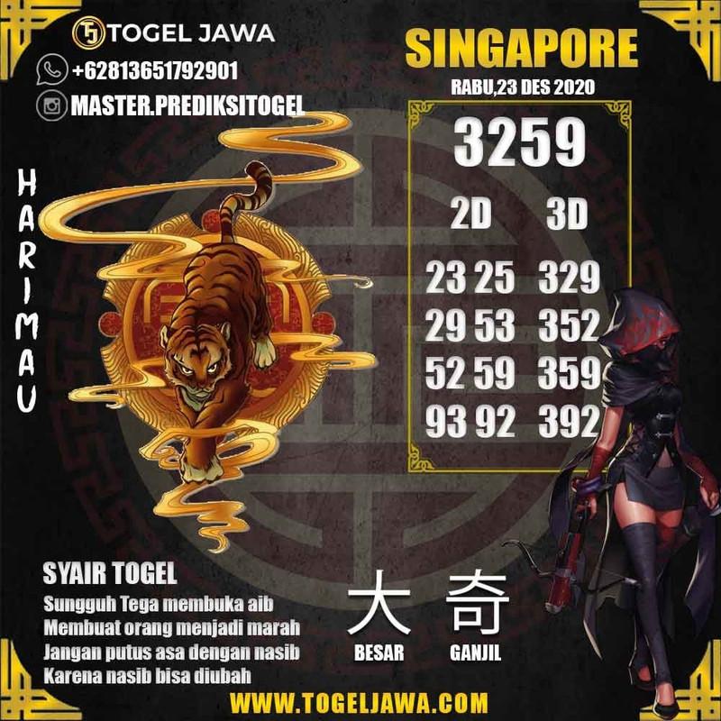 Prediksi Singapore Tanggal 2020-12-23