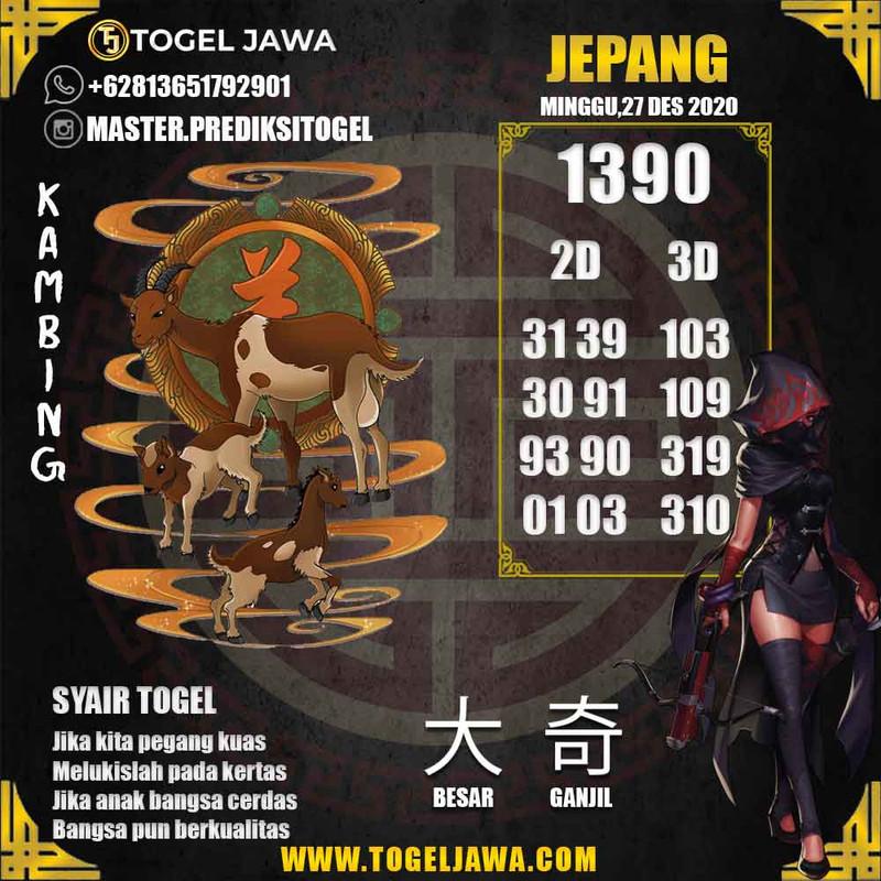Prediksi Japan Tanggal 2020-12-27