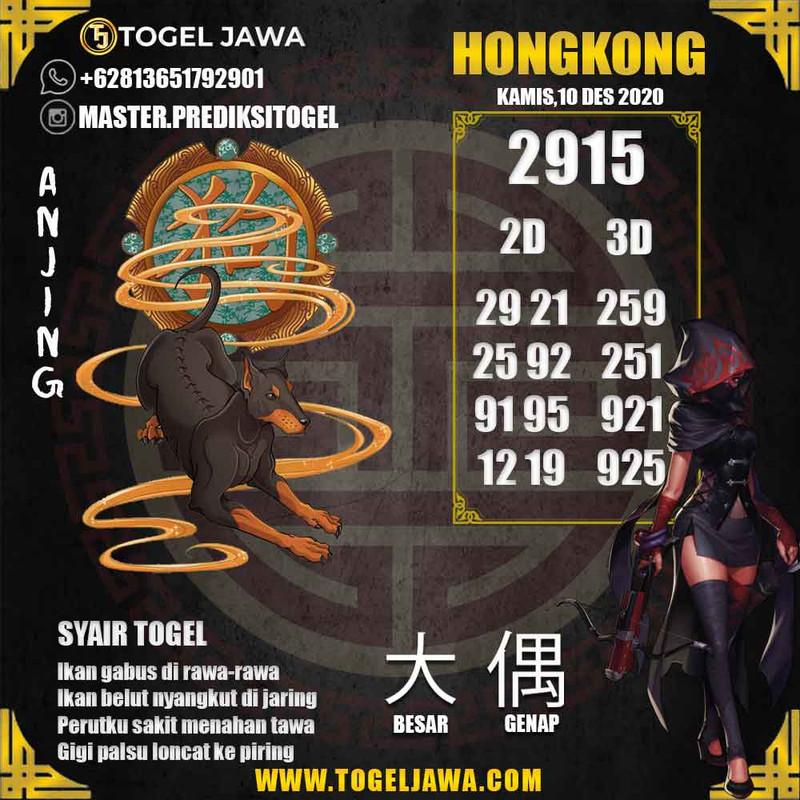 Prediksi Hongkong Tanggal 2020-12-10