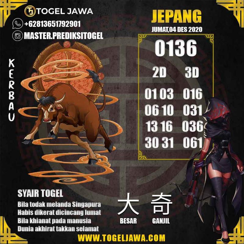 Prediksi Japan Tanggal 2020-12-04