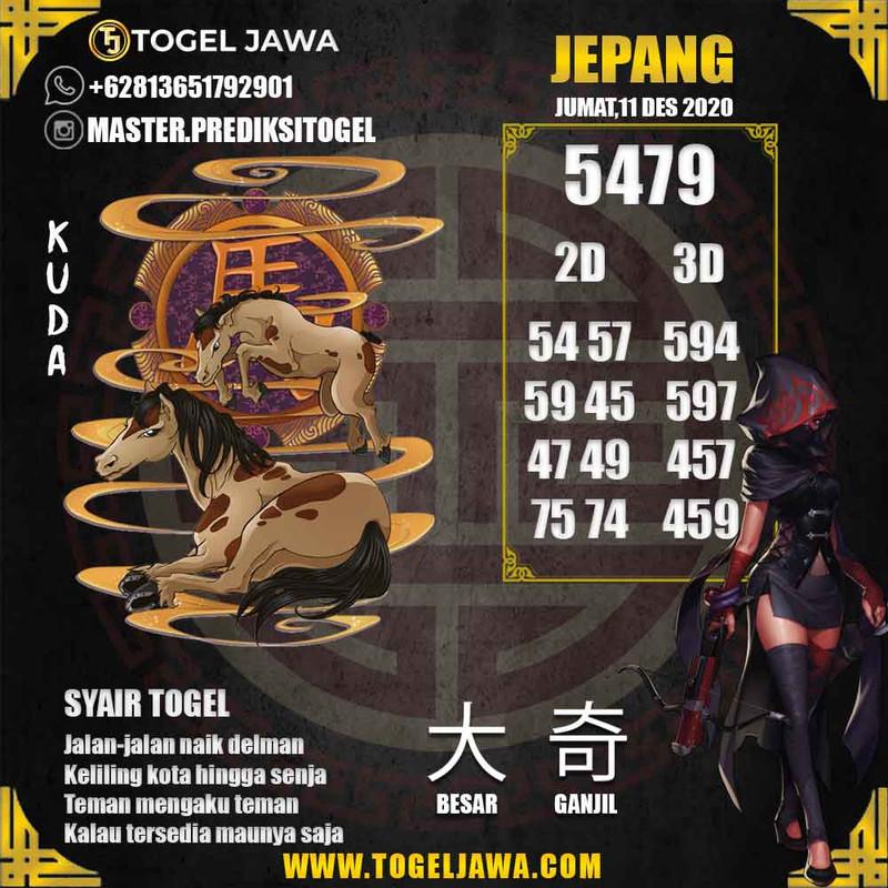 Prediksi Japan Tanggal 2020-12-11