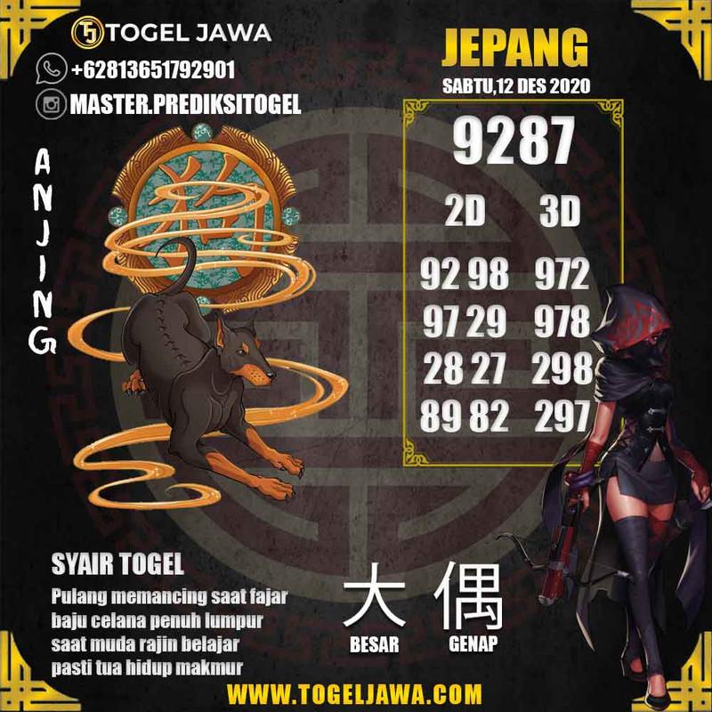 Prediksi Japan Tanggal 2020-12-12