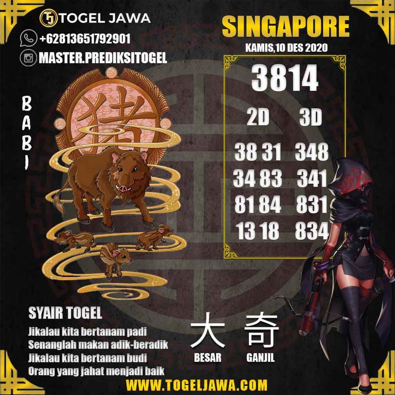 Prediksi Singapore Tanggal 2020-12-10
