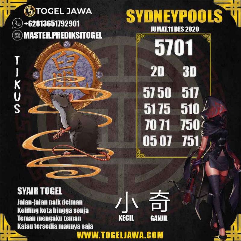 Prediksi Sydney Tanggal 2020-12-11