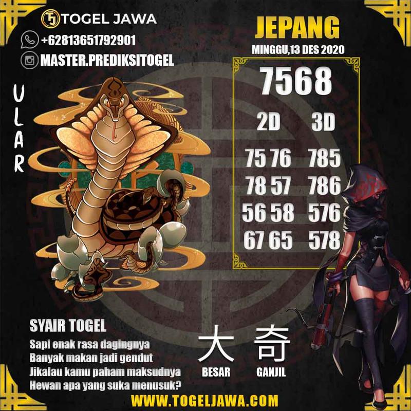 Prediksi Japan Tanggal 2020-12-13
