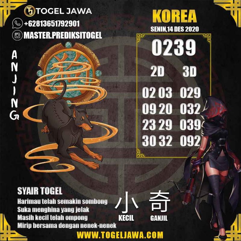 Prediksi Korea Tanggal 2020-12-14