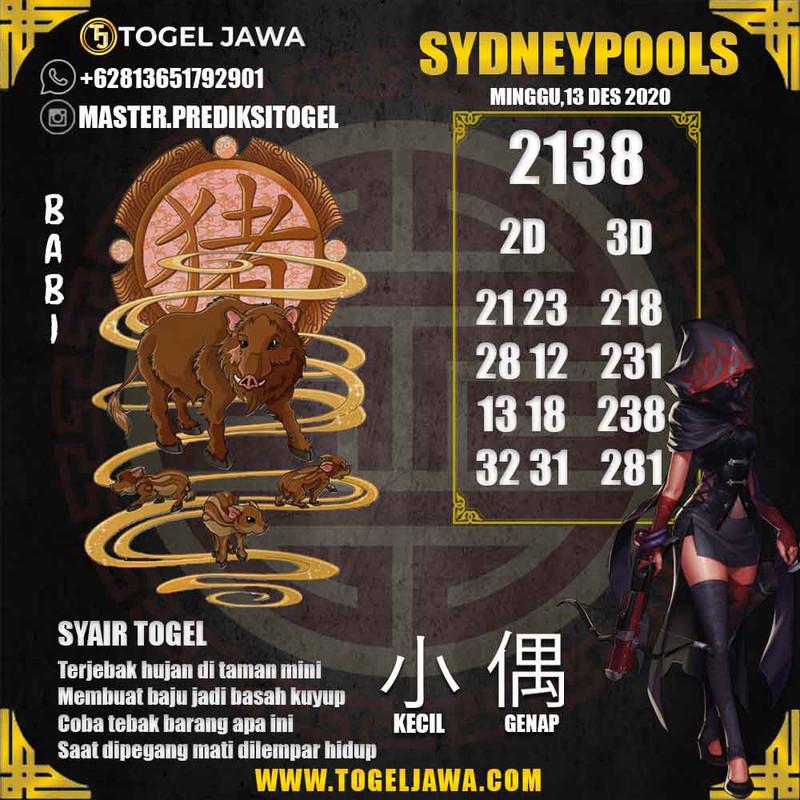 Prediksi Sydney Tanggal 2020-12-13