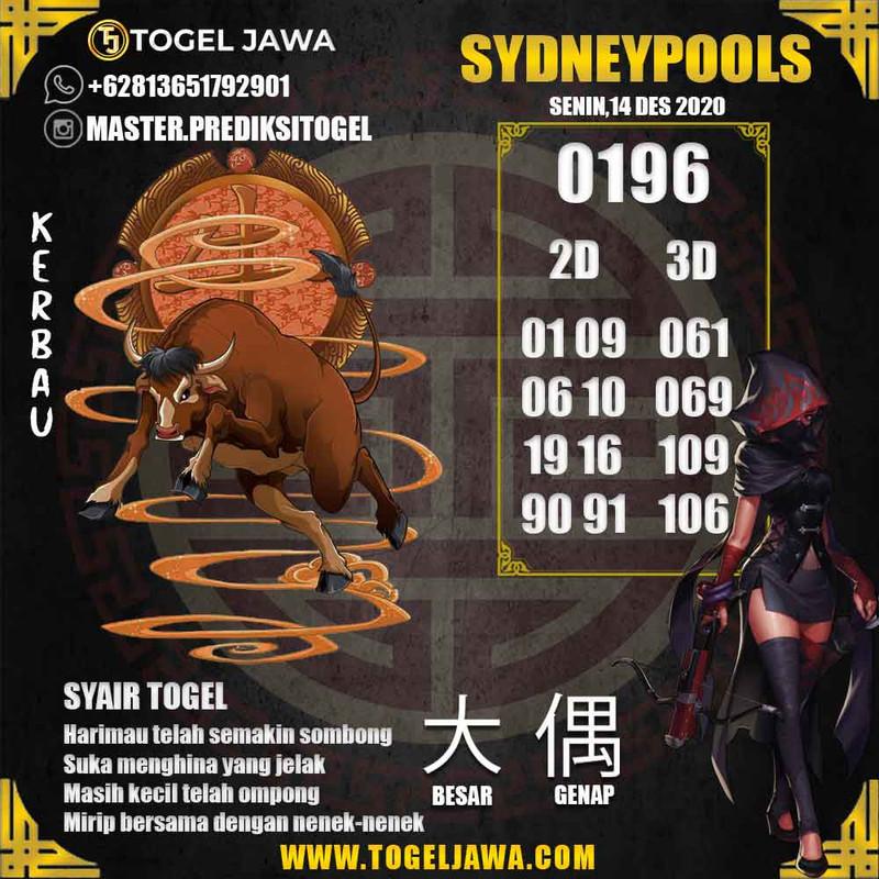 Prediksi Sydney Tanggal 2020-12-14