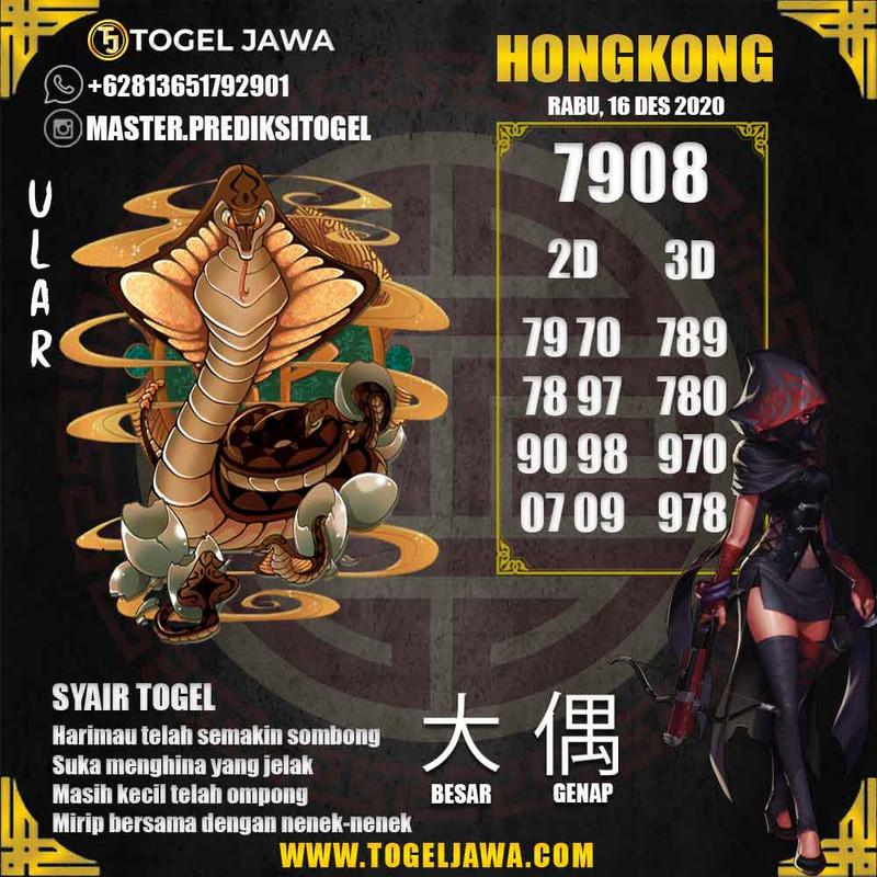 Prediksi Hongkong Tanggal 2020-12-16