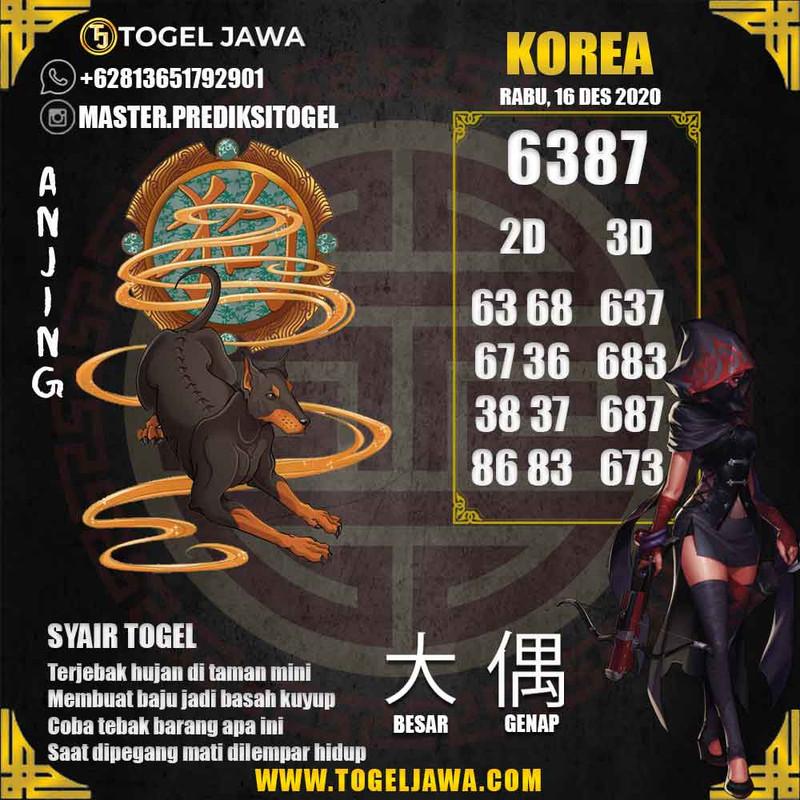 Prediksi Korea Tanggal 2020-12-16