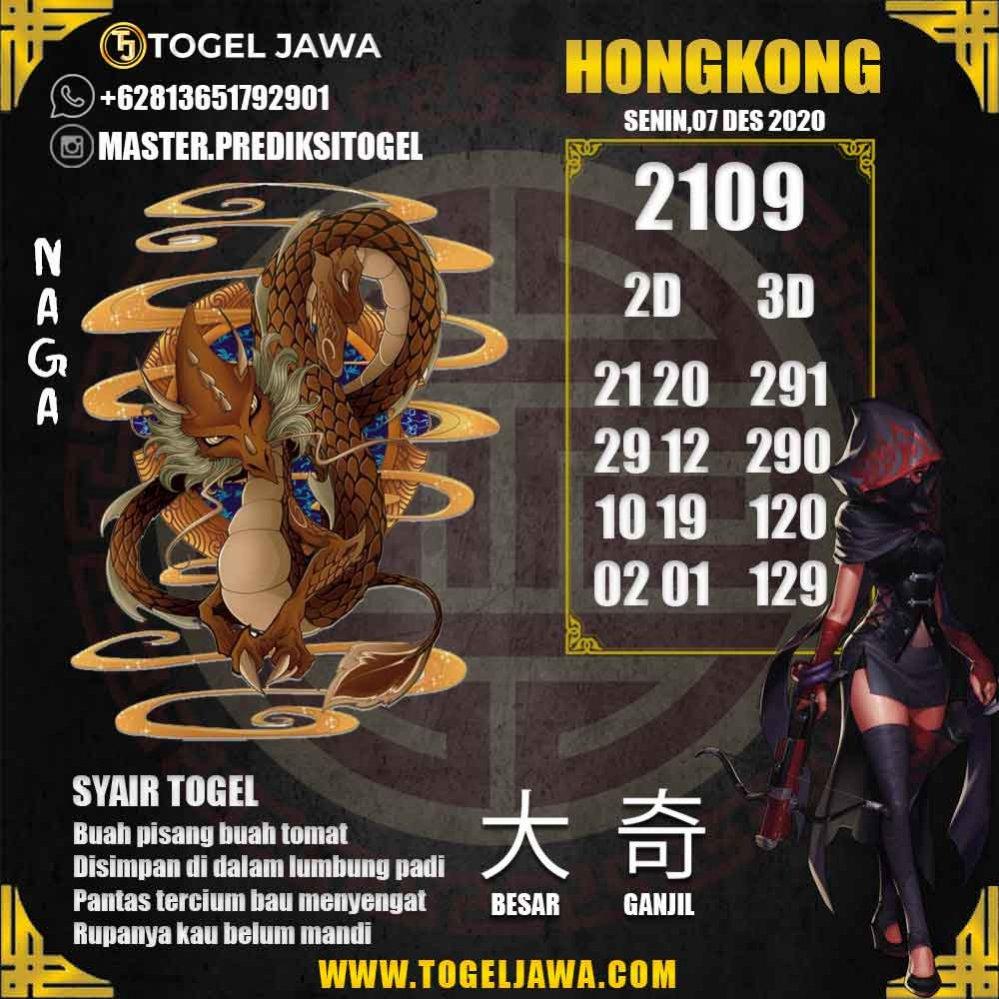 Prediksi Hongkong Tanggal 2020-12-07
