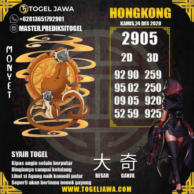 Prediksi Hongkong Tanggal 2020-12-24