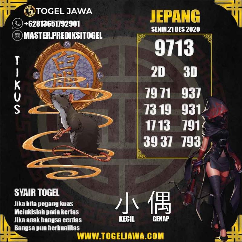 Prediksi Japan Tanggal 2020-12-21