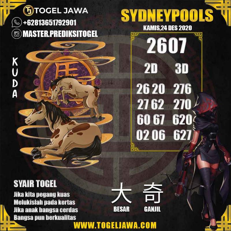 Prediksi Sydney Tanggal 2020-12-24