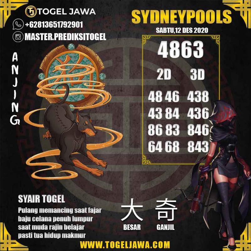 Prediksi Sydney Tanggal 2020-12-12