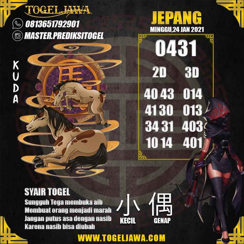 Prediksi Japan Tanggal 2021-01-24
