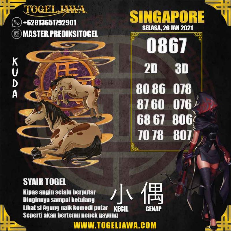 Prediksi Singapore Tanggal 2021-01-26
