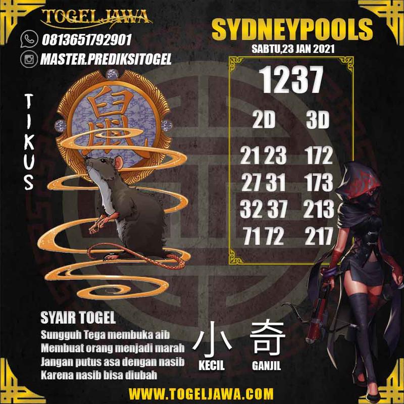 Prediksi Sydney Tanggal 2021-01-23