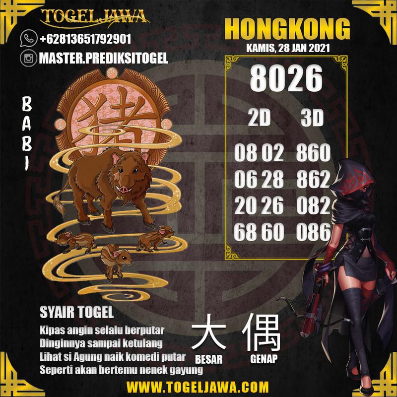 Prediksi Hongkong Tanggal 2021-01-28