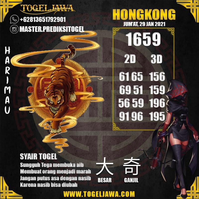 Prediksi Hongkong Tanggal 2021-01-29