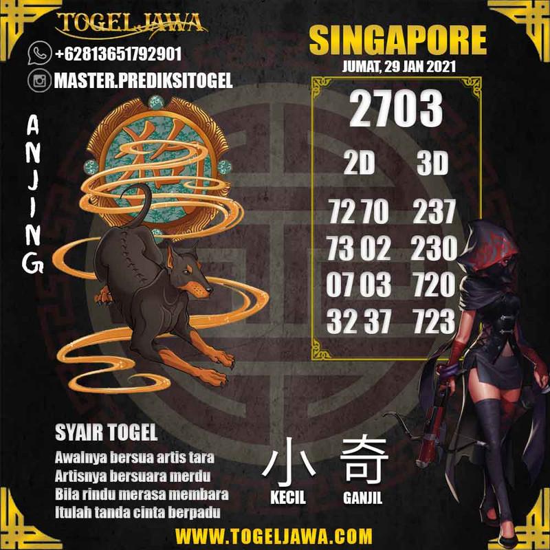 Prediksi Singapore Tanggal 2021-01-29