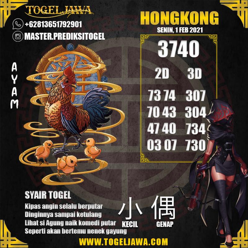 Prediksi Hongkong Tanggal 2021-02-01