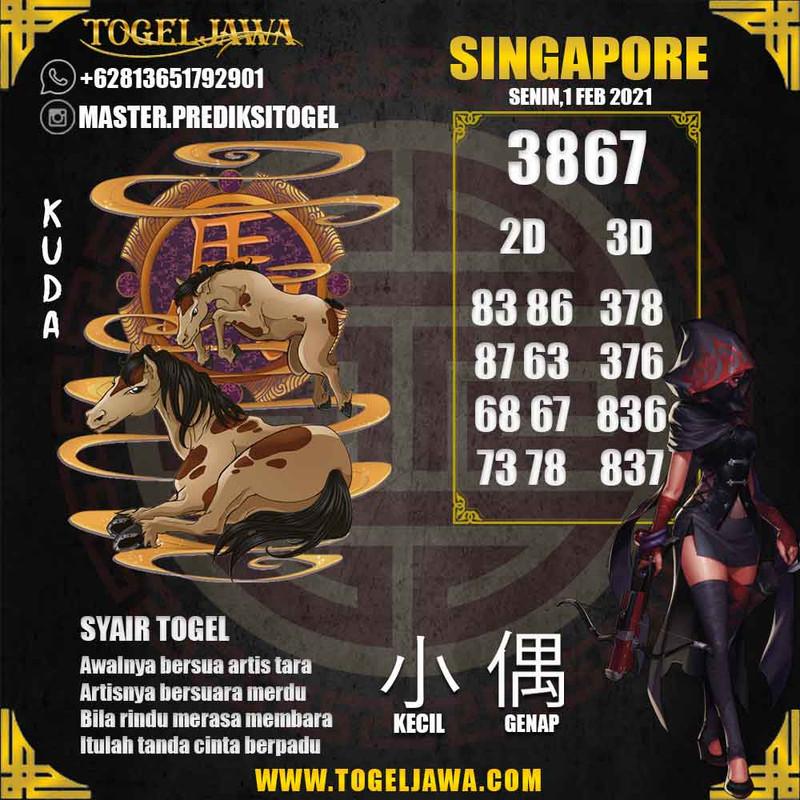 Prediksi Singapore Tanggal 2021-02-01