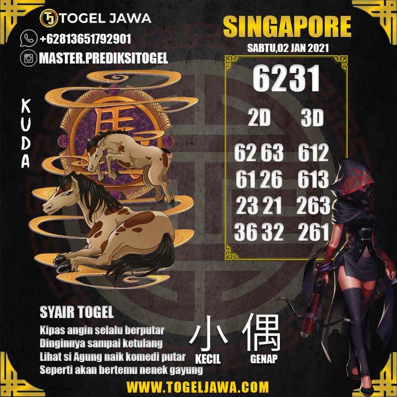 Prediksi Singapore Tanggal 2021-01-02