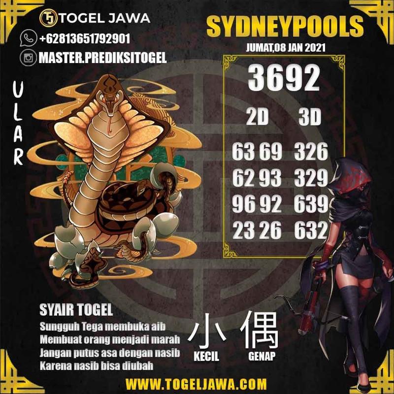 Prediksi Sydney Tanggal 2021-01-08