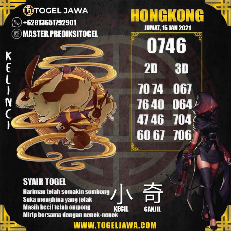Prediksi Hongkong Tanggal 2021-01-15