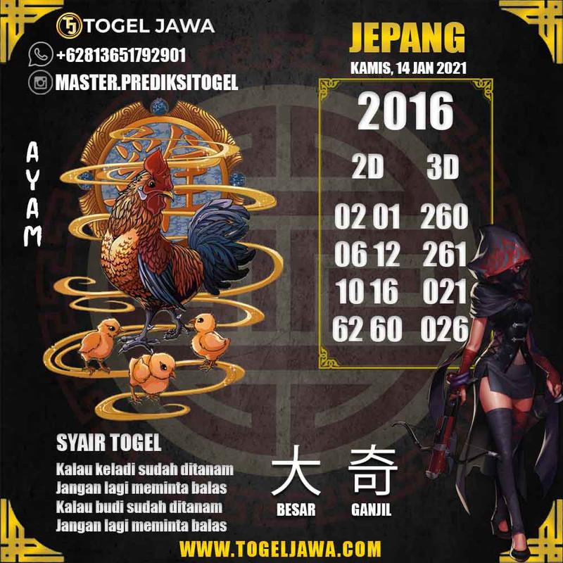 Prediksi Japan Tanggal 2021-01-14