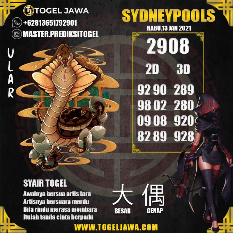 Prediksi Sydney Tanggal 2021-01-13
