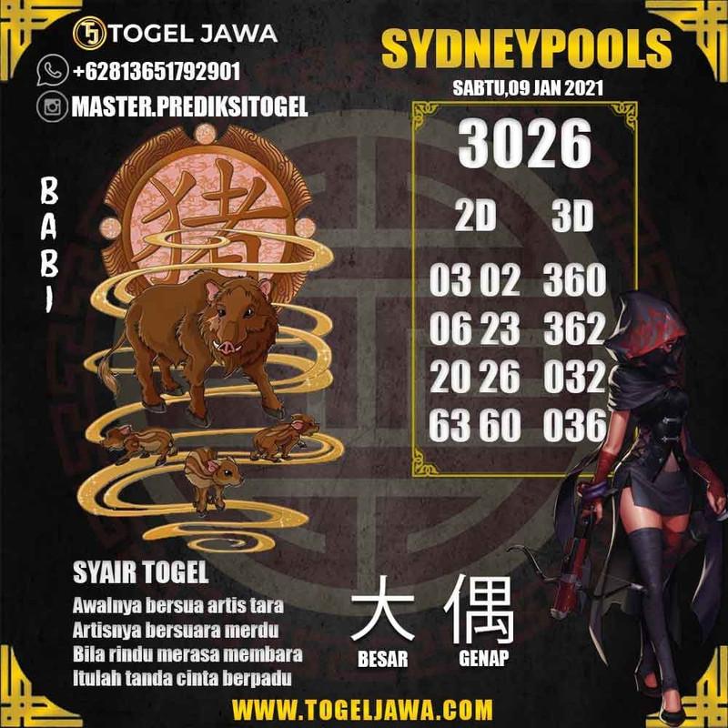 Prediksi Sydney Tanggal 2021-01-09