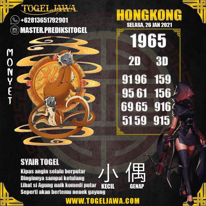 Prediksi Hongkong Tanggal 2021-01-26