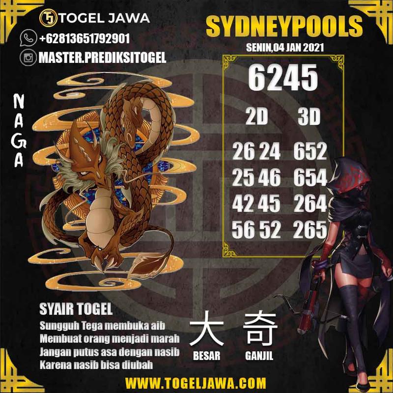 Prediksi Sydney Tanggal 2021-01-04